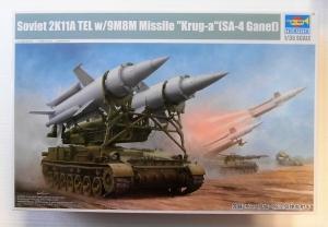TRUMPETER 1/35 09523 SOVIET 2K11A TEL w/9M8M MISSLE KRUG-A