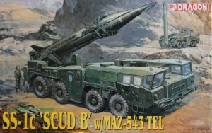 DRAGON 1/35 3520 SCUD B SS-1c WITH MAZ-543 TEL  UK SALE ONLY