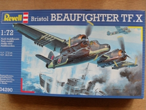 REVELL 1/72 04290 BRISTOL BEAUFIGHTER TF.X