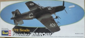 REVELL 1/72 H96 DORNIER Do 335 A-6 ARROW