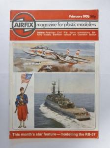 AIRFIX  AIRFIX MAGAZINE 1976 FEBRUARY