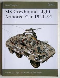 NEW VANGUARDS  053. M8 GREYHOUND LIGHT ARMOURED CAR 1941-91
