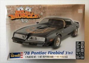 REVELL 1/24 4927 78 PONTIAC FIREBIRD 3 N 1