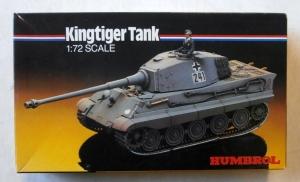HUMBROL 1/72 72207 KINGTIGER TANK