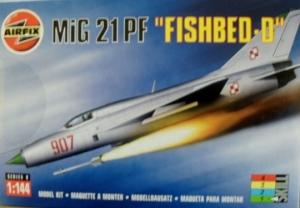 AIRFIX 1/144 00101 MiG 21PF FISHBED-D