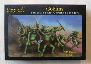 CAESAR MINATURES 1/72 105 GOBLINS