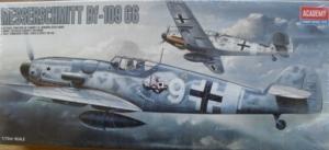 ACADEMY 1/72 1670 MESSERSCHMITT Bf 109G6