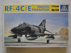 ITALERI 1/72 133 RF-4C/E PHOTO PHANTOM