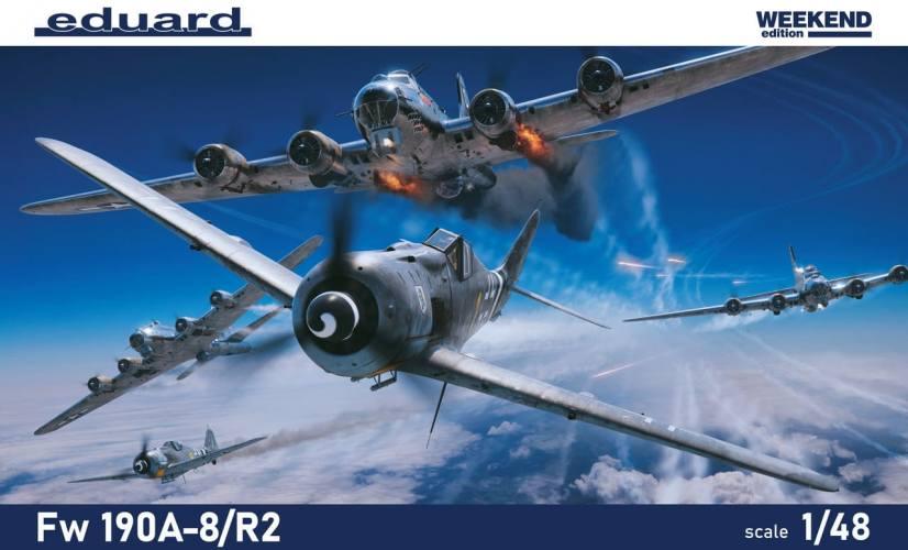EDUARD 1/48 84114 FW 190A-8/R-2 WEEKEND EDITION