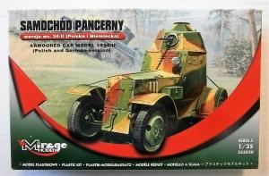 MIRAGE 1/35 355020 ARMOURED CAR MODEL 1934/II  POLISH   GERMAN VERSION