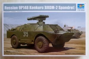 TRUMPETER 1/35 05515 RUSSIAN 9P148 KONKURS  BRDM-2 SPANDREL