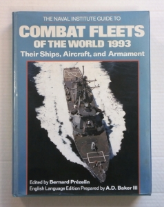 CHEAP BOOKS  ZB706 THE NAVAL INSTITUTE GUIDE TO COMBAT FLEETS OF THE WORLD 1993
