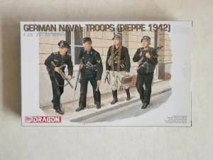 DRAGON 1/35 6087 GERMAN NAVAL TROOPS  DIEPPE 1942