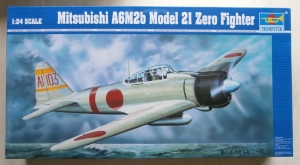 TRUMPETER 1/24 02405 MITSUBISHI A6M2B MODEL 21 ZERO FIGHTER  UK SALE ONLY
