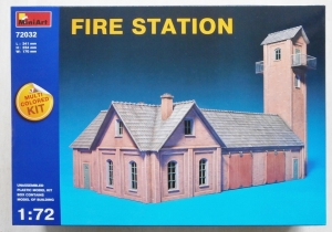 MINIART 1/72 72032 FIRE STATION