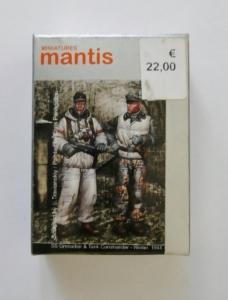 MANTIS MINIATURES 1/35 35023 SS GRENADIER AND TANK COMMANDER WINTER 1944