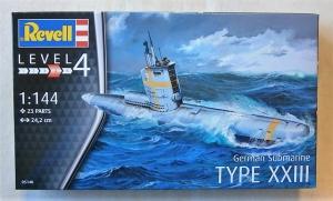 REVELL 1/144 05140 GERMAN SUBMARINE TYPE XXIII