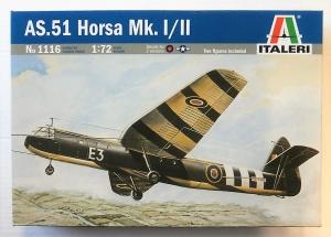ITALERI 1/72 1116 AS.51 HORSA Mk.I/Mk.II