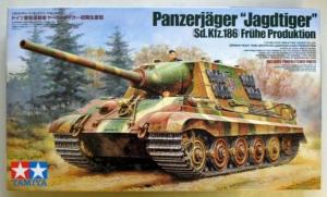 TAMIYA 1/35 35295 PANZERJAGER JAGDTIGER Sd.Kfz.186 FRUHE PRODUKTION