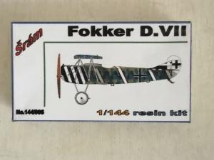 SRAM 1/144 006 FOKKER D.VII