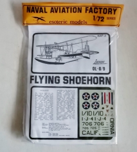 ESOTERIC 1/72 NAF-3 LOENING OL-8/9 FLYING SHOEHORN