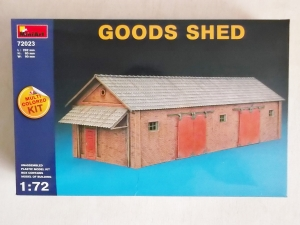 MINIART 1/72 72023 GOODS SHED
