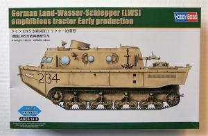 HOBBYBOSS 1/72 82918 GERMAN LAND-WASSER-SCHLEPPER  LWS  AMPHIBIOUS TRACTOR