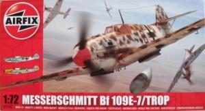 AIRFIX 1/72 02062 MESSERSCHMITT Bf 109E-7/TROP