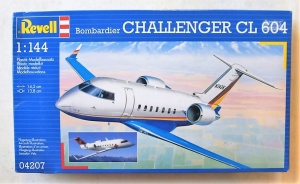 REVELL 1/144 04207 BOMBARDIER CHALLENGER CL 604