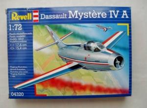 REVELL 1/72 04320 DASSAULT MYSTERE IV A
