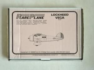 RAREPLANE 1/72 LOCKHEED VEGA