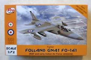 PRO RESIN 1/72 72-039 FOLLAND GNAT FO-141