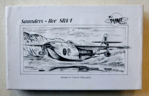 PLANET MODELS 1/72 044 SAUNDERS-ROE SRA/1