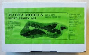 MAGNA 1/72 0572 SHORT SEAMEW AS1