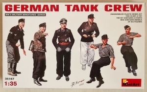 MINIART 1/35 35167 GERMAN TANK CREW