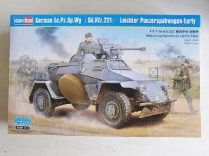 HOBBYBOSS 1/35 83813 GERMAN Le.Pz.Sp.Wg  Sd.Kfz.221  LEICHTER PANZERSPAHWAGEN EARLY