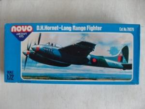 NOVO 1/72 78079 DH HORNET F Mk.3