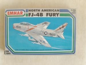 EMHAR 1/72 1001 NORTH AMERICAN FJ-4B FURY
