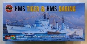 AIRFIX 1/600 04213 HMS TIGER   HMS DARING