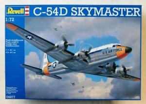 REVELL 1/72 04877 C-54D SKYMASTER