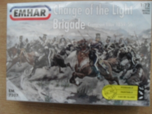 EMHAR 1/72 7207 CHARGE OF THE LIGHT BRIGADE