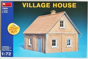 MINIART 1/72 72024 VILLAGE HOUSE