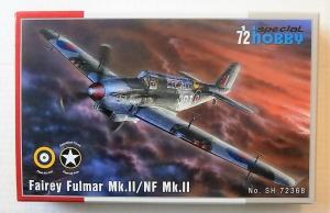 SPECIAL HOBBY 1/72 72368 FAIREY FULMAR Mk.II/NF Mk.II