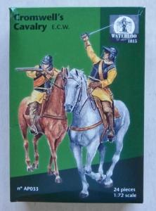 WATERLOO 1/72 033 CROMWELLS CAVALRY