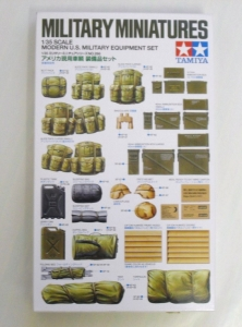 TAMIYA 1/35 35266 MODERN U.S. EQUIPMENT SET