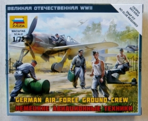 ZVEZDA 1/72 6188 GERMAN AIR FORCE GROUND CREW