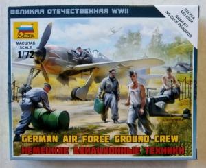 ZVEZDA 1/72 6188 GERMAN AIR FORCE GROUND CREW