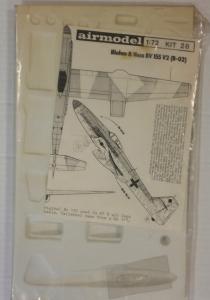 AIRMODEL 1/72 28 BLOHM   VOSS Bv 155 V2  B-02