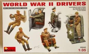 MINIART 1/35 35042 WWII DRIVERS