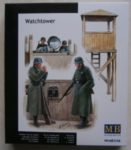 MASTERBOX 1/35 3546 WATCHTOWER INCLUDES 4 FIGURES